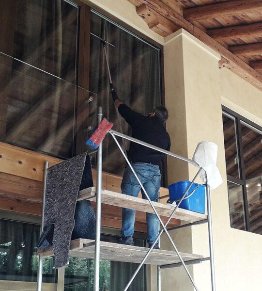 Pulizia vetrate a Bassano Vicenza